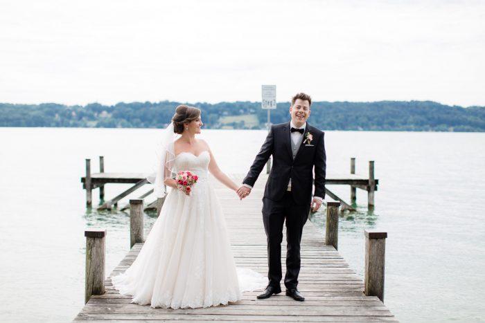 Hochzeit am Starnberger See im La Villa
