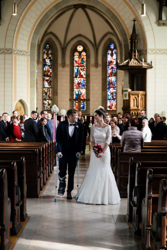 Hochzeitsreportage Kirche Ulm