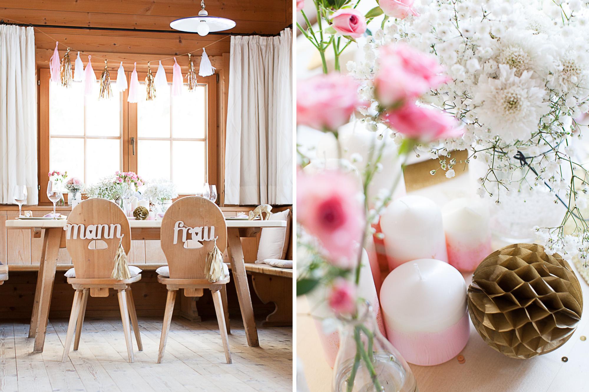 004 Tisch Dekoration Hochzeit Inspiration Winter Anna Mardo