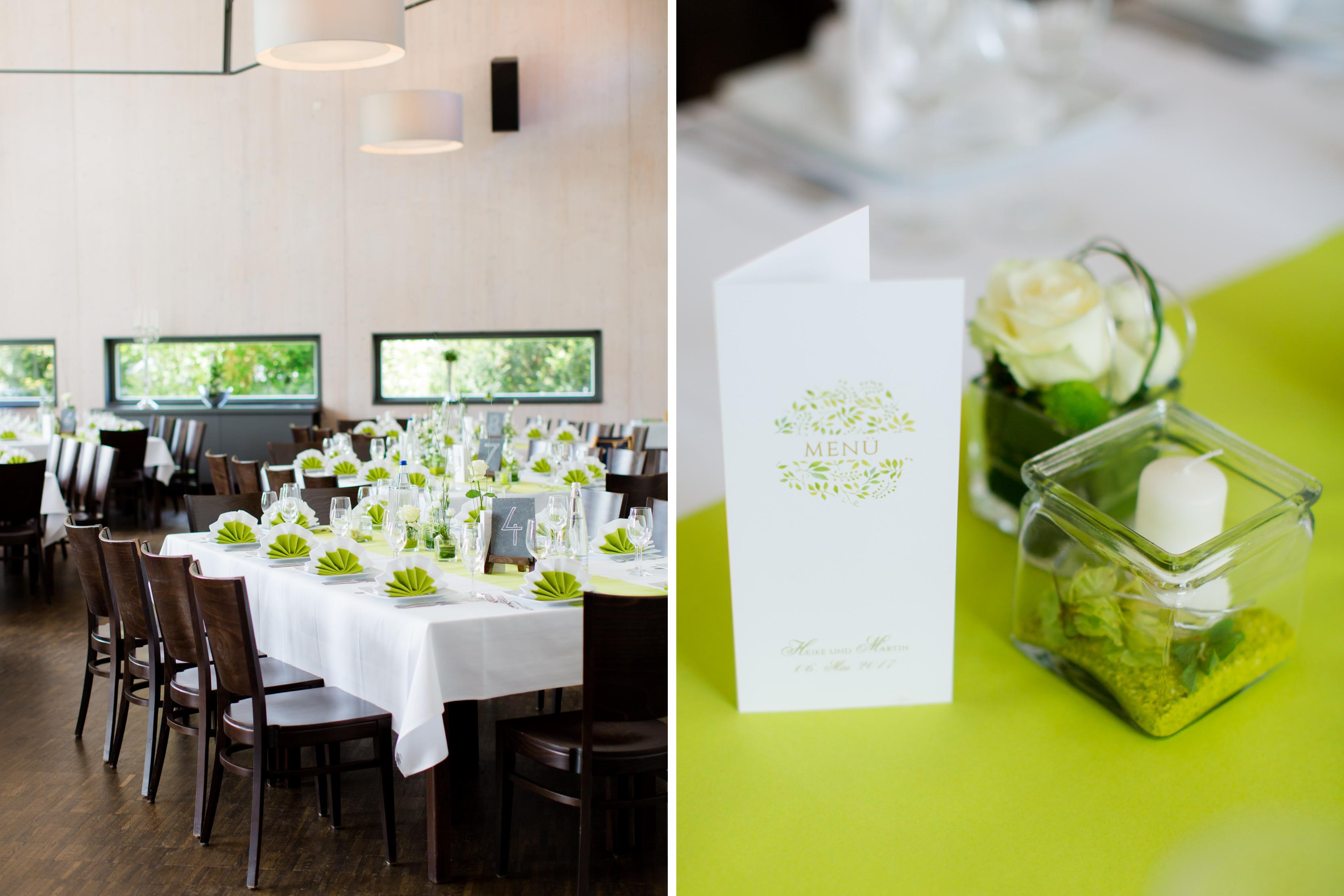 Moderne Hochzeitslocation mit Garten