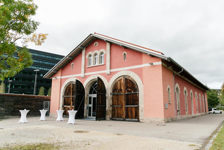 Lokschuppen in Heidenheim