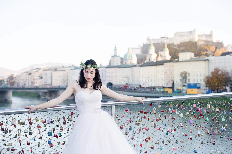 Moderne Hochzeitsfotografie in Salzburg