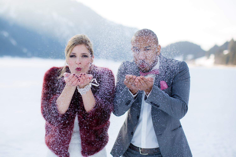 Styled Shoot im Schnee