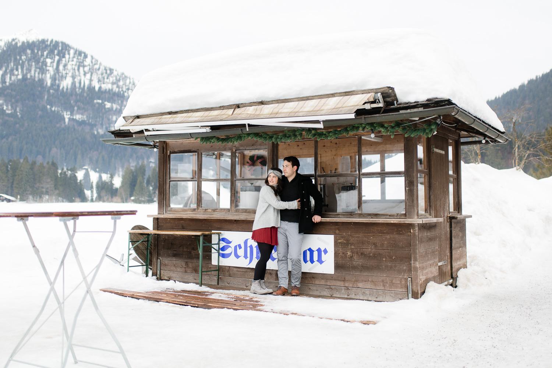 Paarfotografie in der Region Schliersee