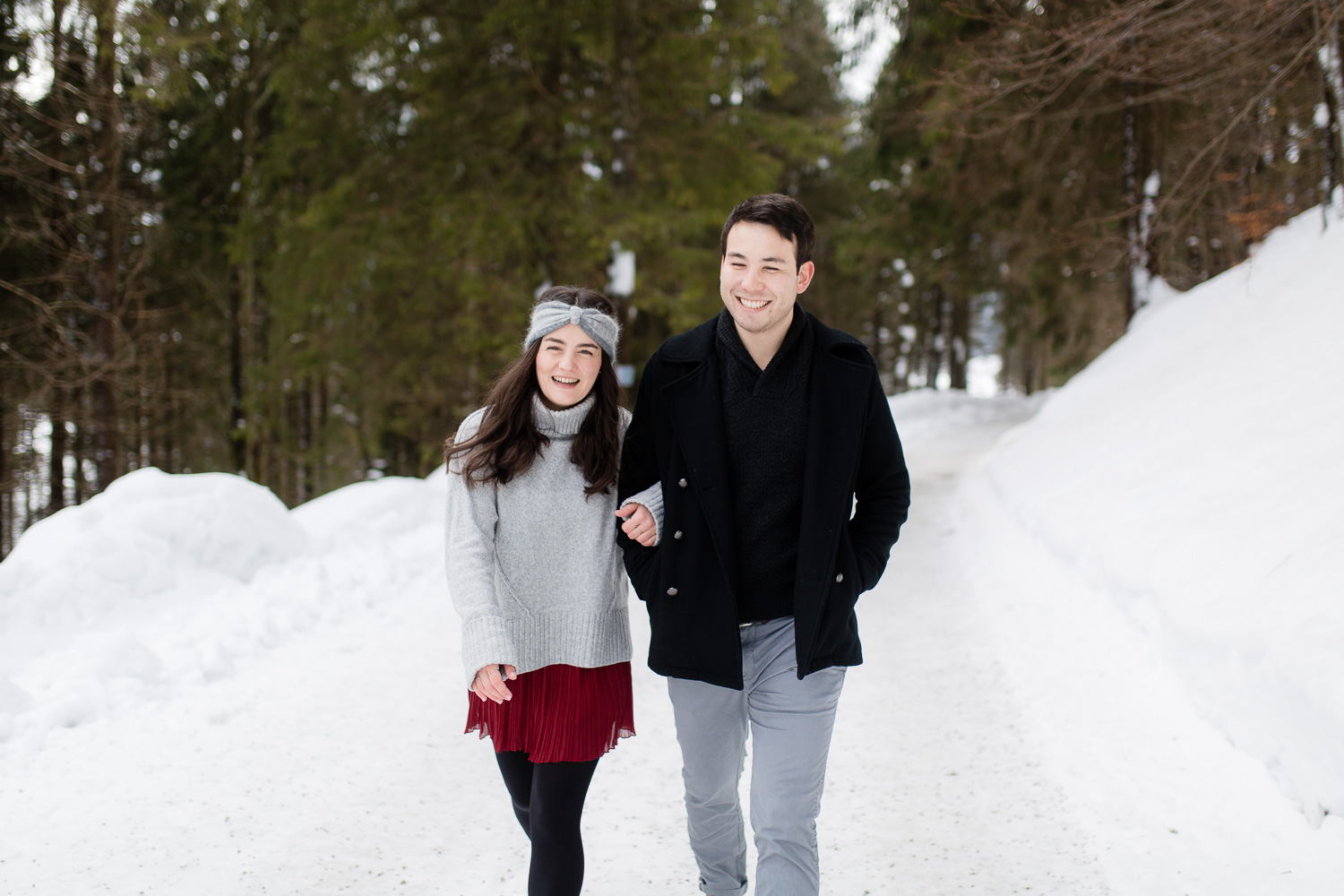 Couple Lovestory in Bavaria during Winter