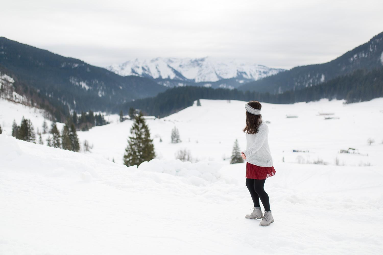 Winterlandschaft am Spitzingsee