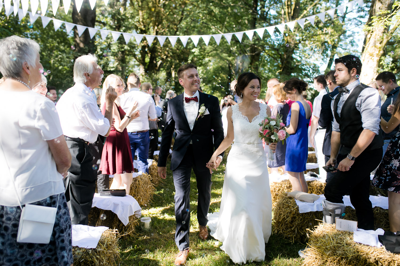 Auszug Brautpaar Allgäu