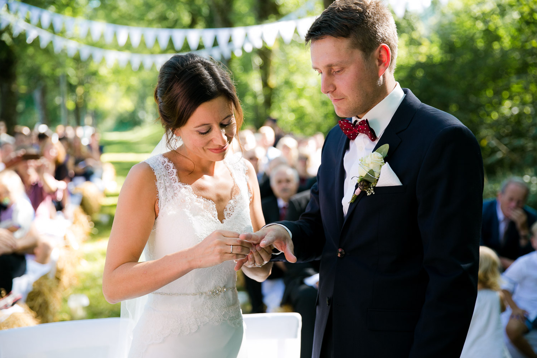 Ringwechsel Hochzeit Allgäu