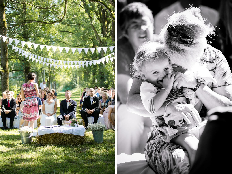 Natürliche Reportage Hochzeit in Memmingen