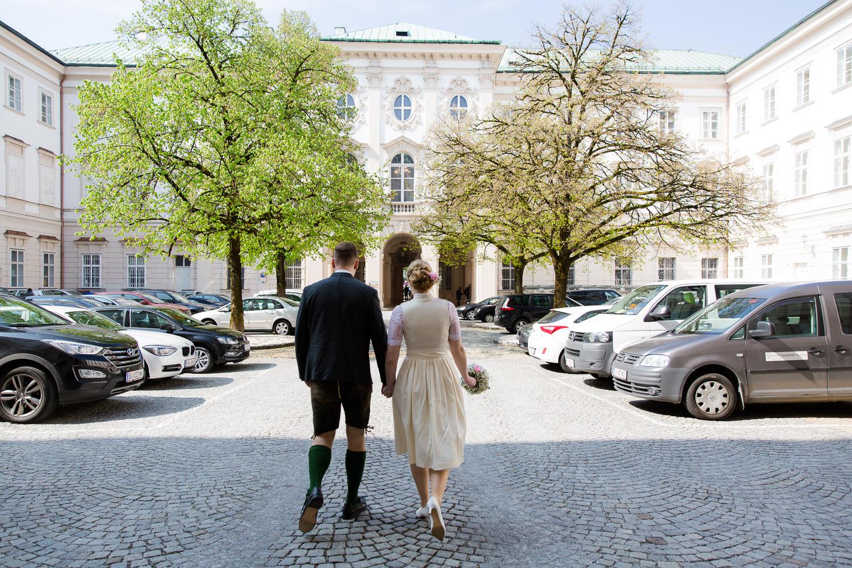 Standesamtliche Trauung in Salzburg