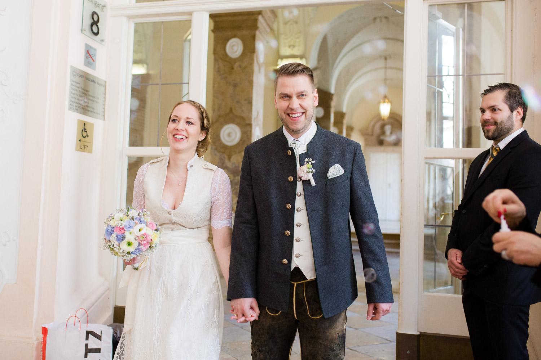 Hochzeit im Schloß Mirabell