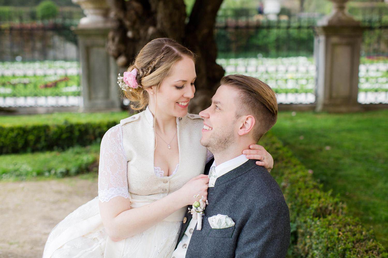 Schloß Mirabell Brautpaar