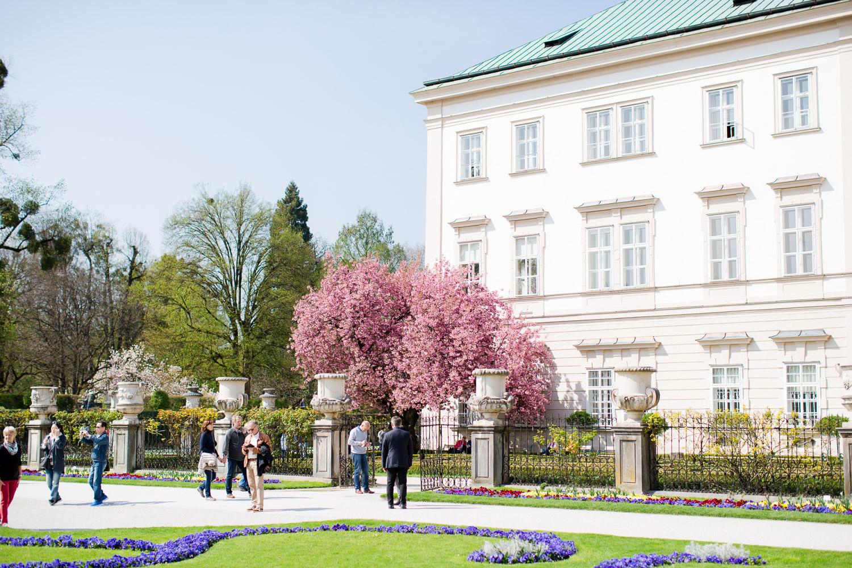 Hochzeit im Schloß Mirabell in Salzburg