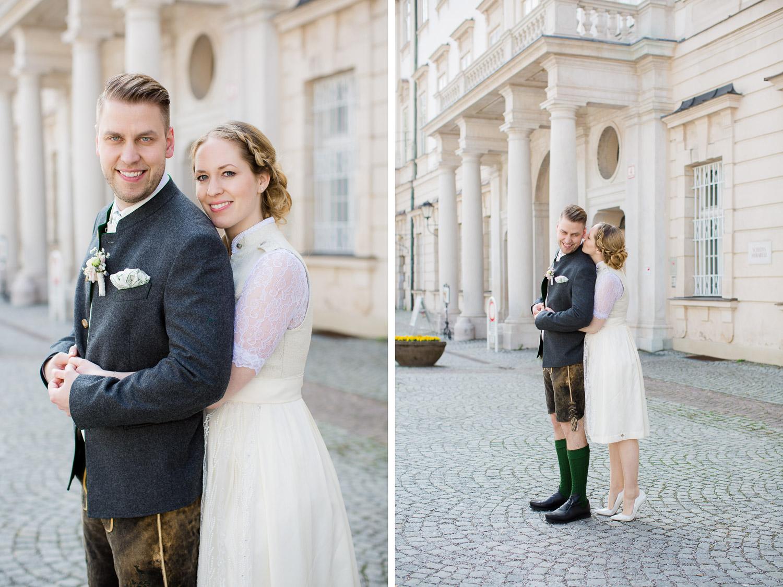 Brautpaarbilder Schloß Mirabell