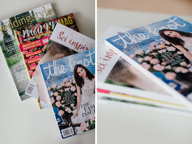 Hochzeitsmagazine für die Hochzeitsplanung