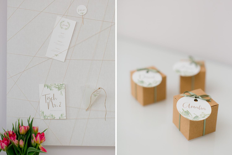 Hochzeitspapeterie von Prettycards