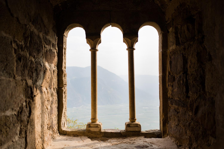 Wunderschöner Ausblick aus der Burgruine Boymont