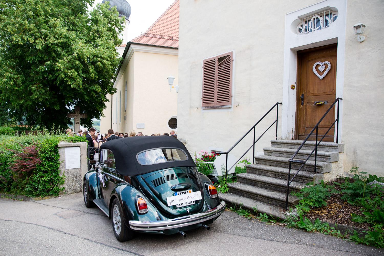Heidenheim Brautauto Käfer