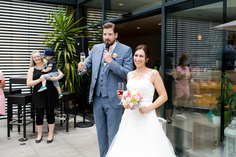 Stimmungsvolle Hochzeit in Nördlingen
