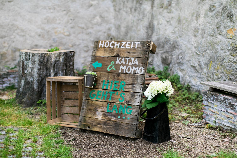 Ideen für die Hochzeit