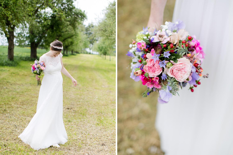 Elfenkleid Hochzeit Brautkleid