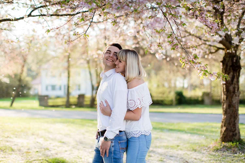 Fotoshooting Kirschblüte Ulm