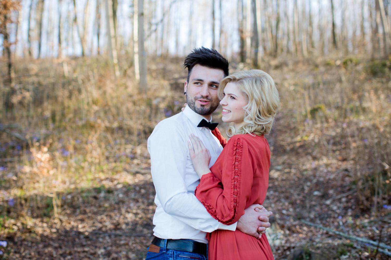 Spring couple Shoot