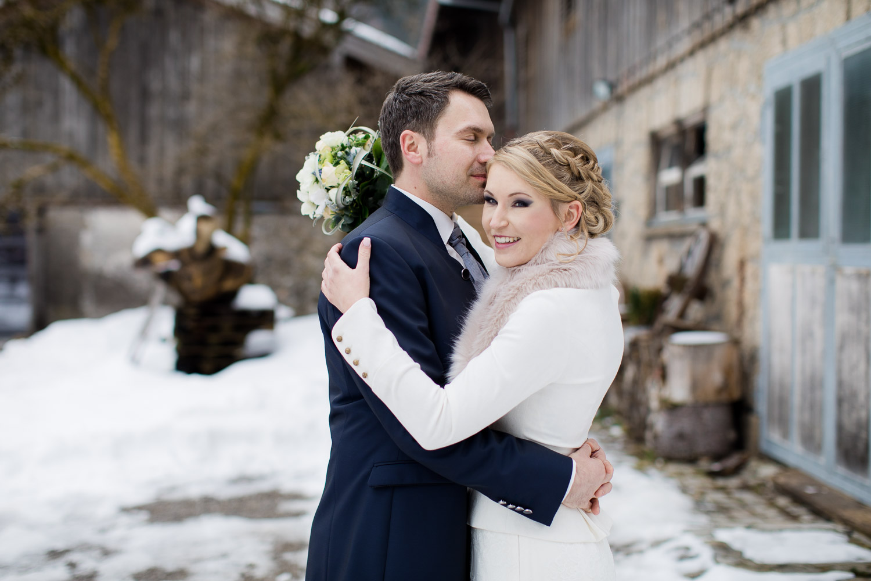 Liebevolle Hochzeitsfotografie Bayern