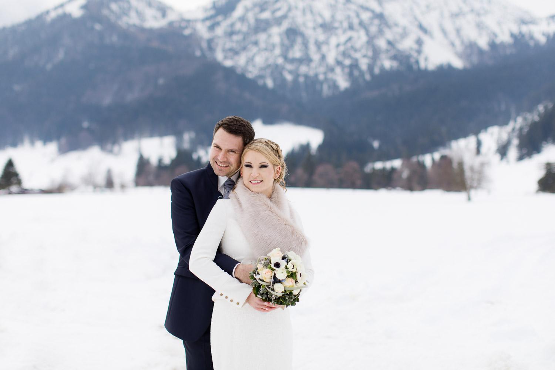 Paarshooting Hochzeit am Schliersee