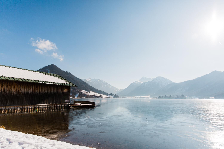 Winterhochzeit am Schliersee