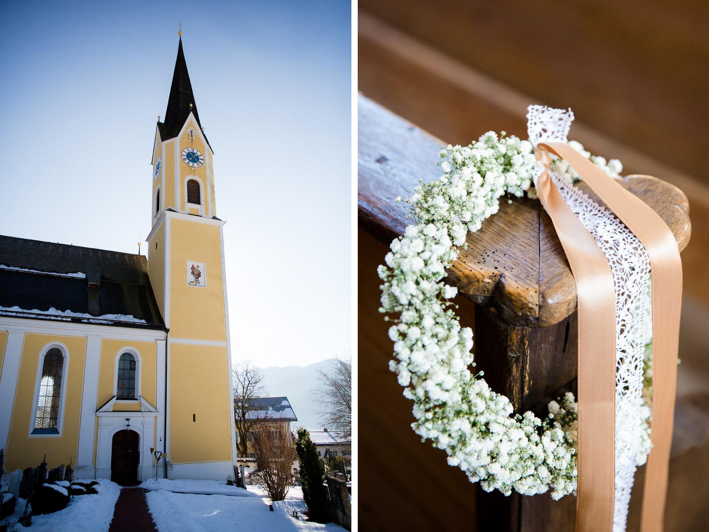 Kirchliche Hochzeit schliersee