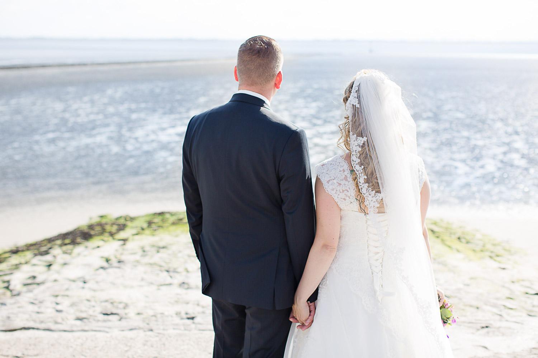 Brautpaar auf Baltrum