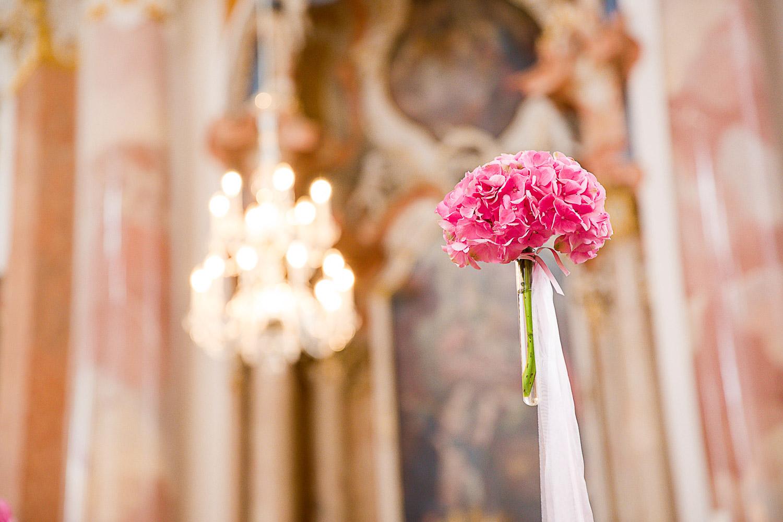 Hochzeitsreportage Kirche Günzburg