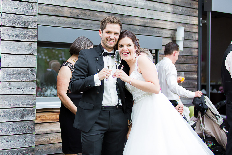 Brautpaar Feier Hochzeit Neuhof am See