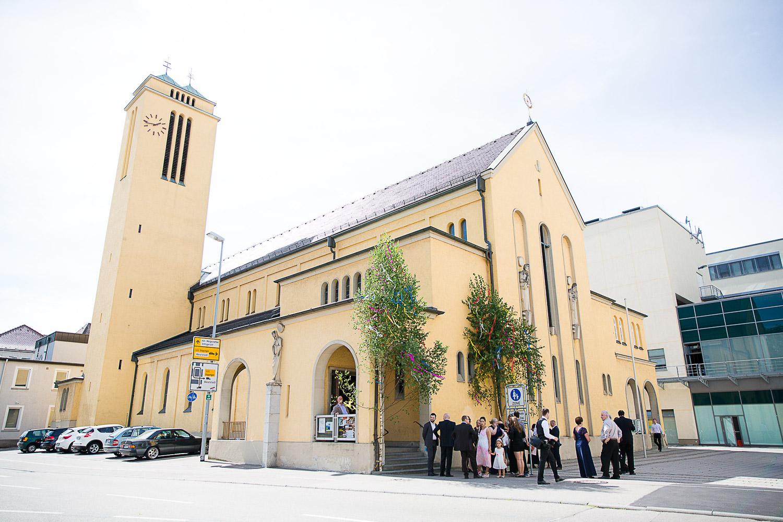 Kirche Heidenheim Hochzeit