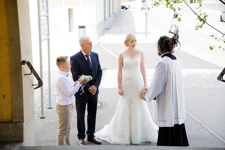 Kirchliche Hochzeit in Heidenheim
