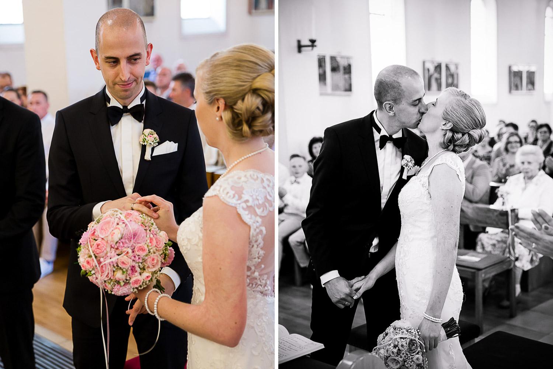Hochzeit in der Kirche in Heidenheim