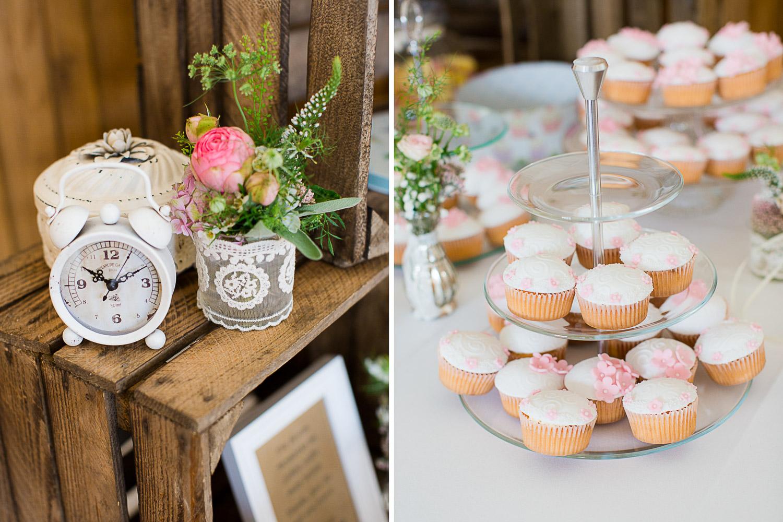 Hochzeitsdekoration Time and Vision