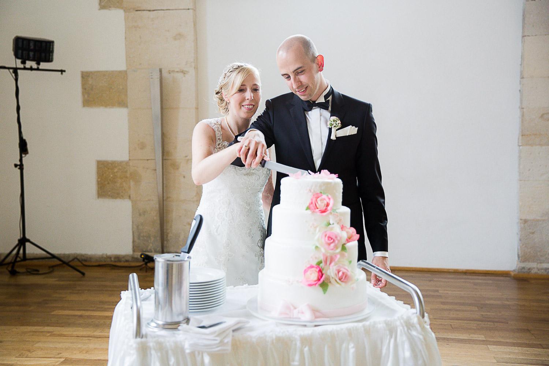 Hochzeitsfotografin Hammerschmiede Torte