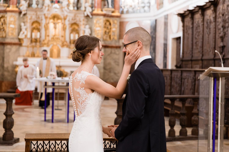 Eheversprechen Kirchliche Trauung in der Frauenkirche Günzburg