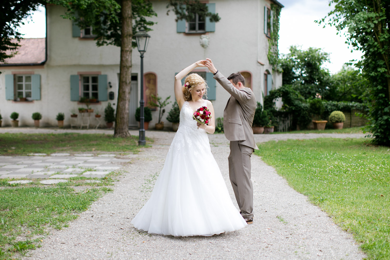 Brautpaar in Dillingen an der Donau