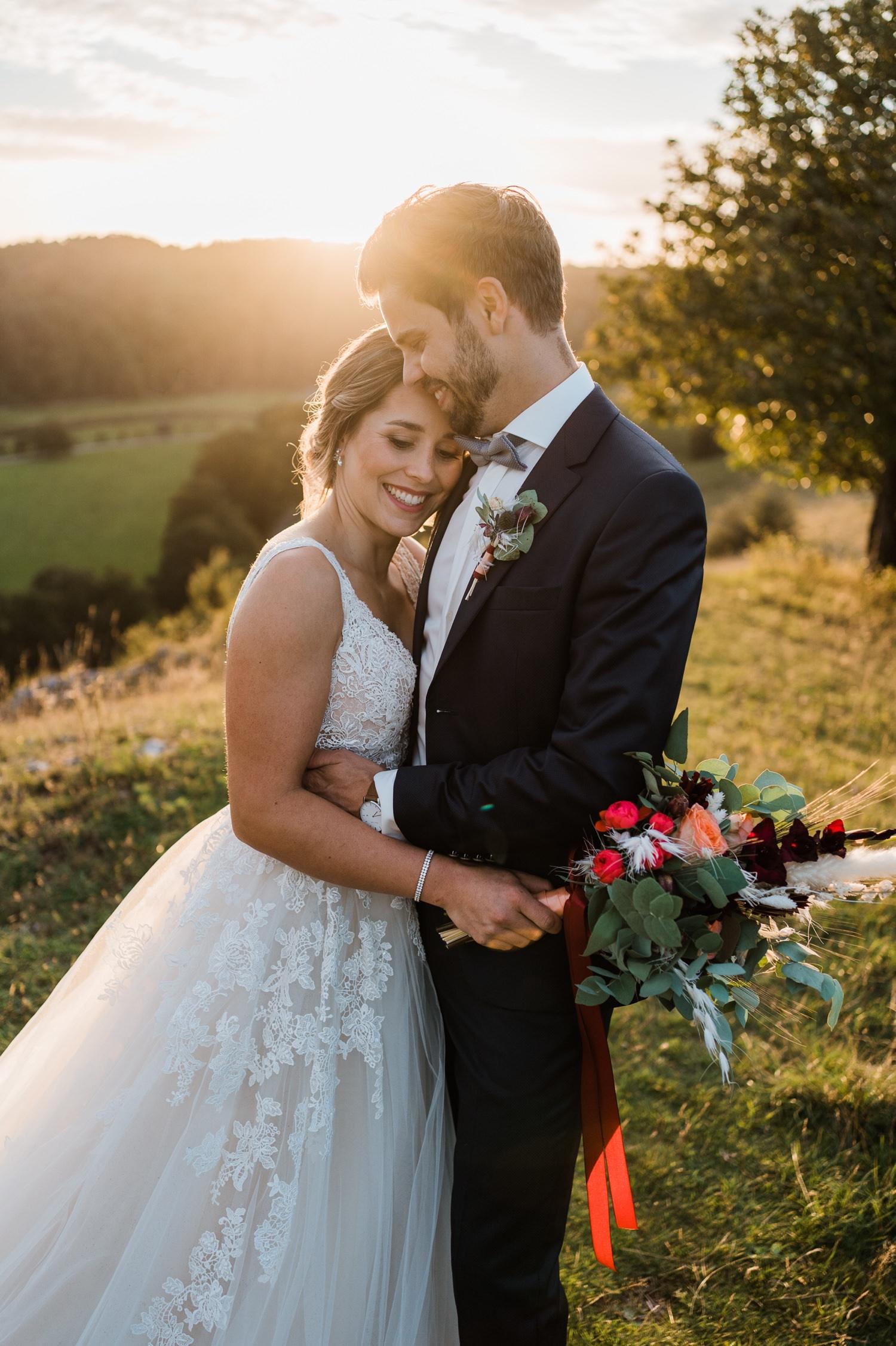 Hochzeitsshooting nach der Hochzeit