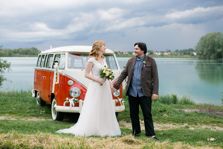 Bulli Hochzeitsauto