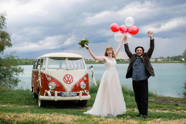 Abenteuer Hochzeit mit Bulli
