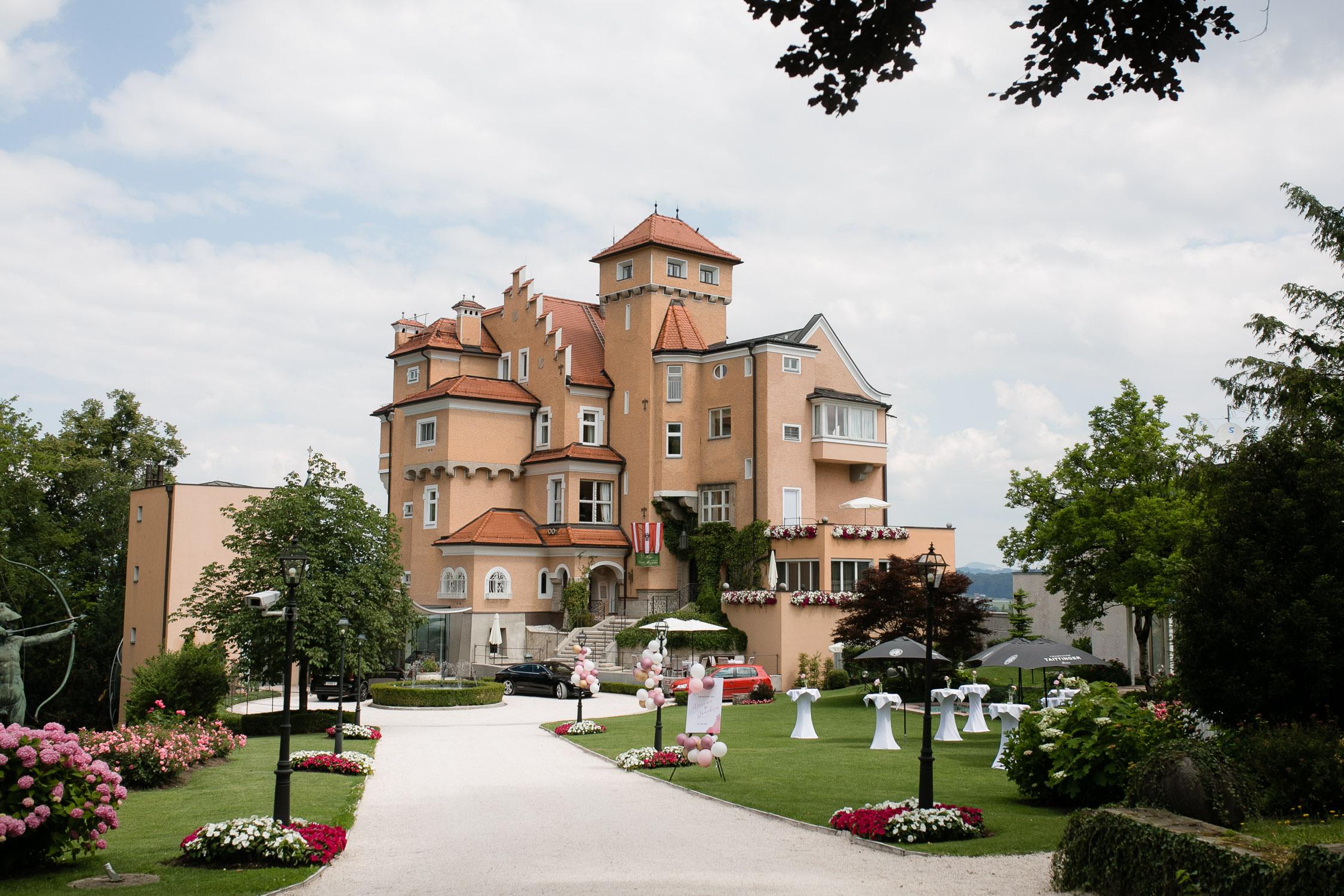 Hochzeit Schloss Mönchstein Salzburg