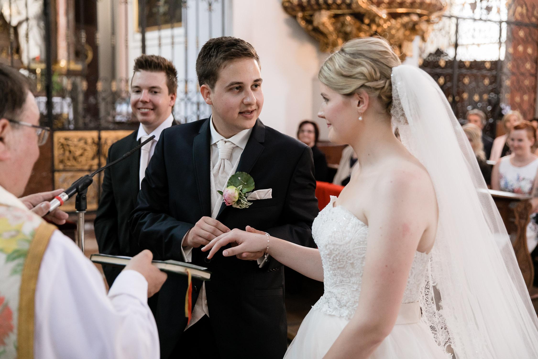 Kirchliche Hochzeit in Salzburg