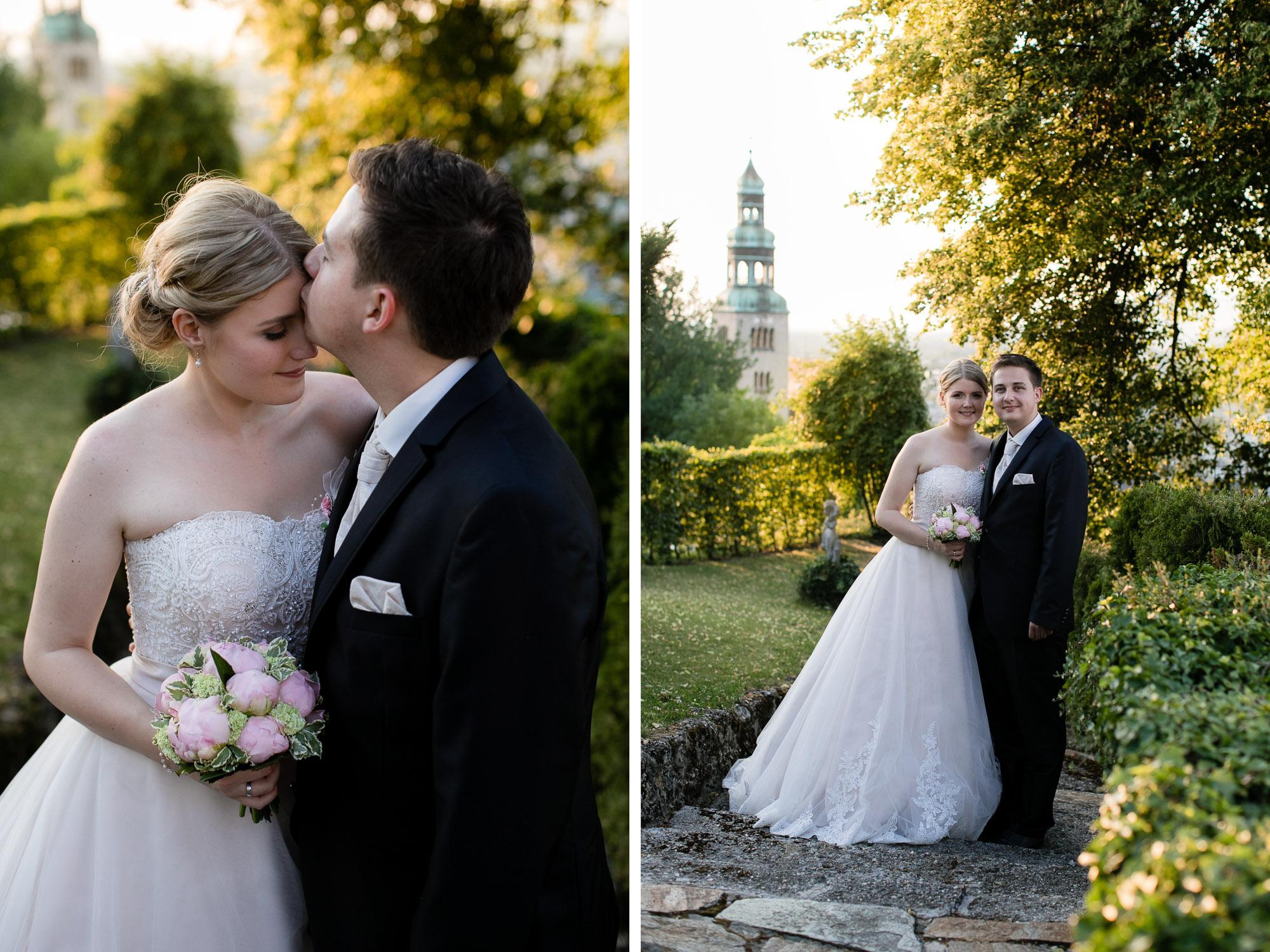 Brautpaar Portrait Hochzeit
