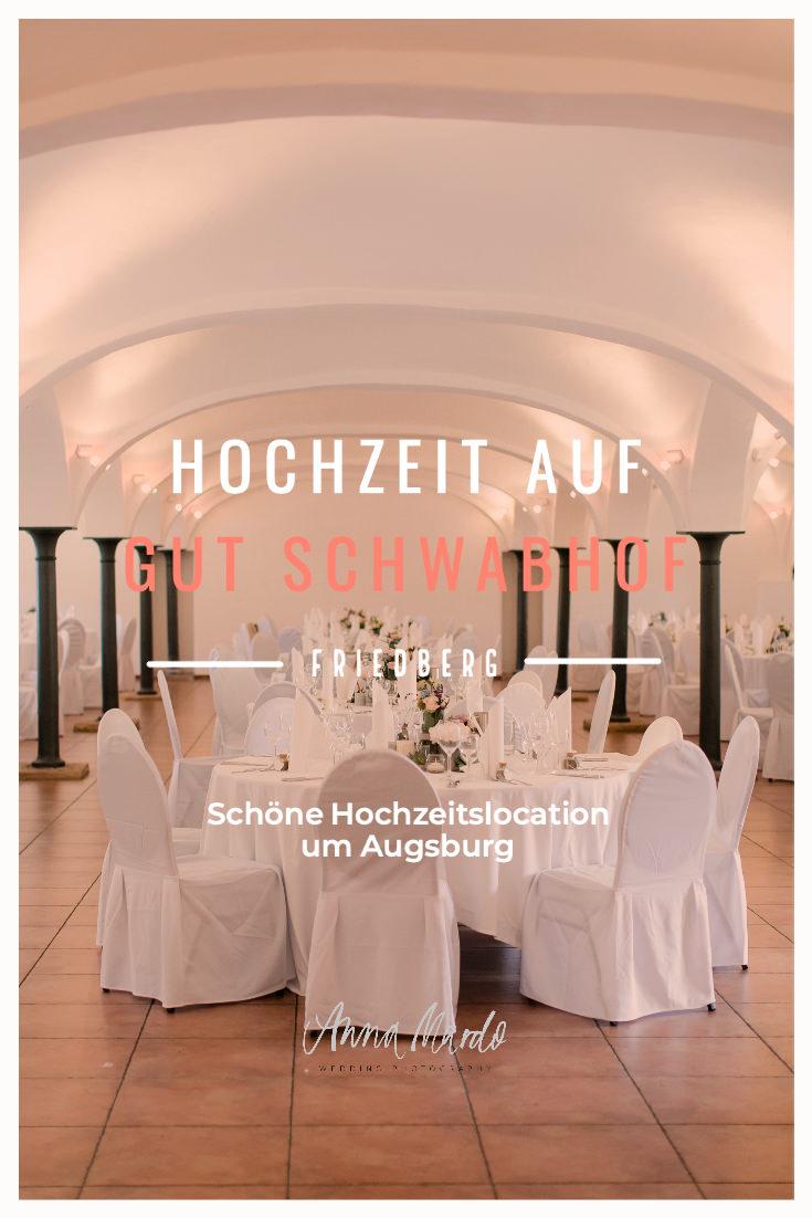 Hochzeit auf Gut Schwabhof bei Augsburg