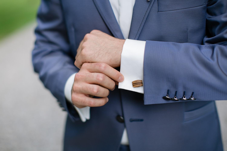 Bräutigam Details Hochzeit Augsburg