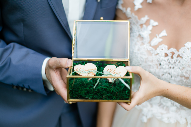 Ringschale für die Hochzeit